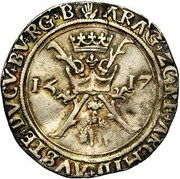 Spanish Real - Charles V – reverse