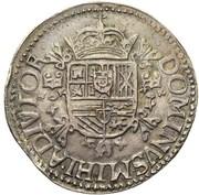 Écu Filipsdaalder - Felipe II – reverse