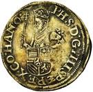 ½ Ecu des Etats - Felipe II – obverse
