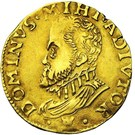 ½ Real d'or - Felipe II – obverse