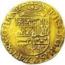 ½ Real d'or - Felipe II – reverse