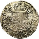 "½ Ecu ""Philipsdaalder"" - Felipe II – reverse"