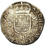 Patagon - Felipe IV – reverse