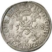 1 Bourgondische Daalder - Filips II – obverse