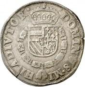1 Bourgondische Daalder - Filips II – reverse