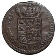 1 Oord - Carlos II – reverse