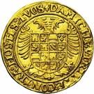 1 Gouden Reaal - Carlos V – reverse