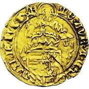 Half-florin St. Philippe - Carlos V – obverse