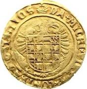 Florin Karolus d'Or – reverse
