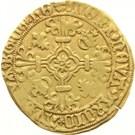 ½ St. Philippus Gulden - Carlos V – reverse