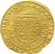 Demi Real d'or - Carlos V – obverse