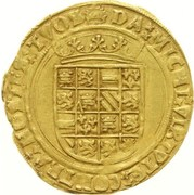 Demi Real d'or - Carlos V – reverse
