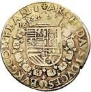 1 Gulden - Albert & Isabella – reverse