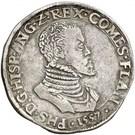 1 Philipsdaalder - Felipe II (ANG) – obverse