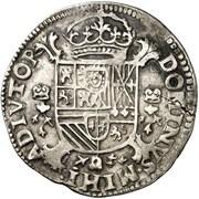 Demi-écu - Felipe II – reverse
