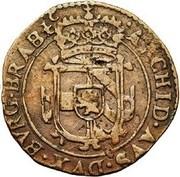 1 Duit - Charles II (Antwerpen) – reverse