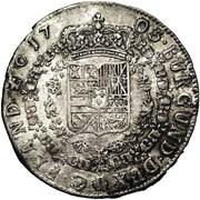 1 Patagon - Felipe V – reverse