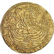 1 Rozenobel - Filips II – obverse