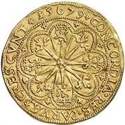 1 Rozenobel - Filips II – reverse