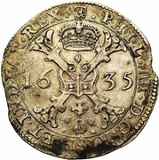 1 Patagon - Philippe IV -  obverse