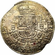 1 Patagon - Philippe IV -  reverse