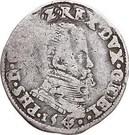 ⅕ Philipsdaalder - Felipe II – obverse