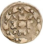1 Korte - Filips II – reverse