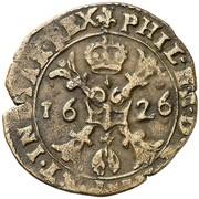 1 Duit - Felipe IV – obverse