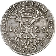 1 Patagon - Felipe IV -  obverse