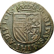 1 Liard - Felipe II – reverse