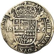 1 Escalin - Felipe IV – reverse