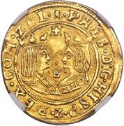 2 Dukaten - Filips II – obverse