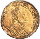 ½ Gouden Reaal - Felipe II – obverse