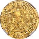 2 Dukaten - Felipe II (Middelburg) – obverse
