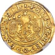 2 Ducats - Philip II (Middelburg Mint) – obverse