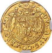 2 Ducats - Philip II (Middelburg Mint) – reverse