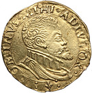 ½ Gouden Reaal - Felipe II (Brugge) – obverse
