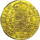 2 Souverain - Felipe IV (type I) – reverse