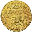 2 Souverain - Felipe IV – reverse