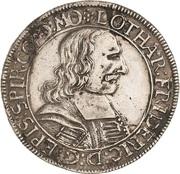60 Kreuzer - Lothar Friedrich von Metternich – obverse