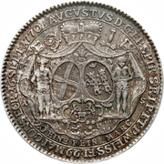 ½ Thaler - August Philipp (Ascession) – obverse