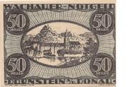 50 Heller (Wachau - Dürnstein) – obverse