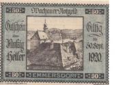 50 Heller (Wachau - Emmersdorf) – obverse