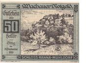 50 Heller (Wachau - Ranna-Mühldorf) – obverse