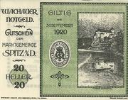 20 Heller (Wachau) – obverse