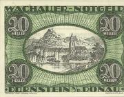 20 Heller (Spitz an der Donau) – obverse
