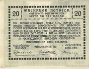 20 Heller 1920 Gutschein – reverse