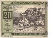 20 Heller (Wachau - Ranna-Mühldorf) – obverse