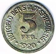 5 Pfennig - Spremberg – obverse