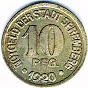 10 Pfennig - Spremberg – obverse